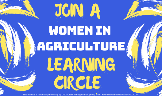 Join a Women in Agriculture Learning Circle logo