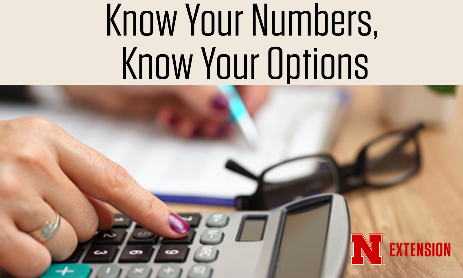 Know Your Numbers calculator graphic.